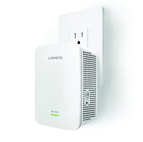 linksys gigabit extender RE7000 wifi forstærker anmeldelse
