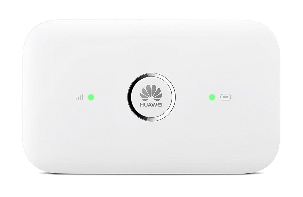 Huawei E5573 4G router - anmeldelse af mobile bredbånds routere