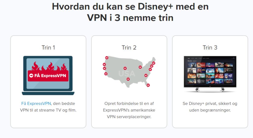Sådan kan du se disney plus i Danmark