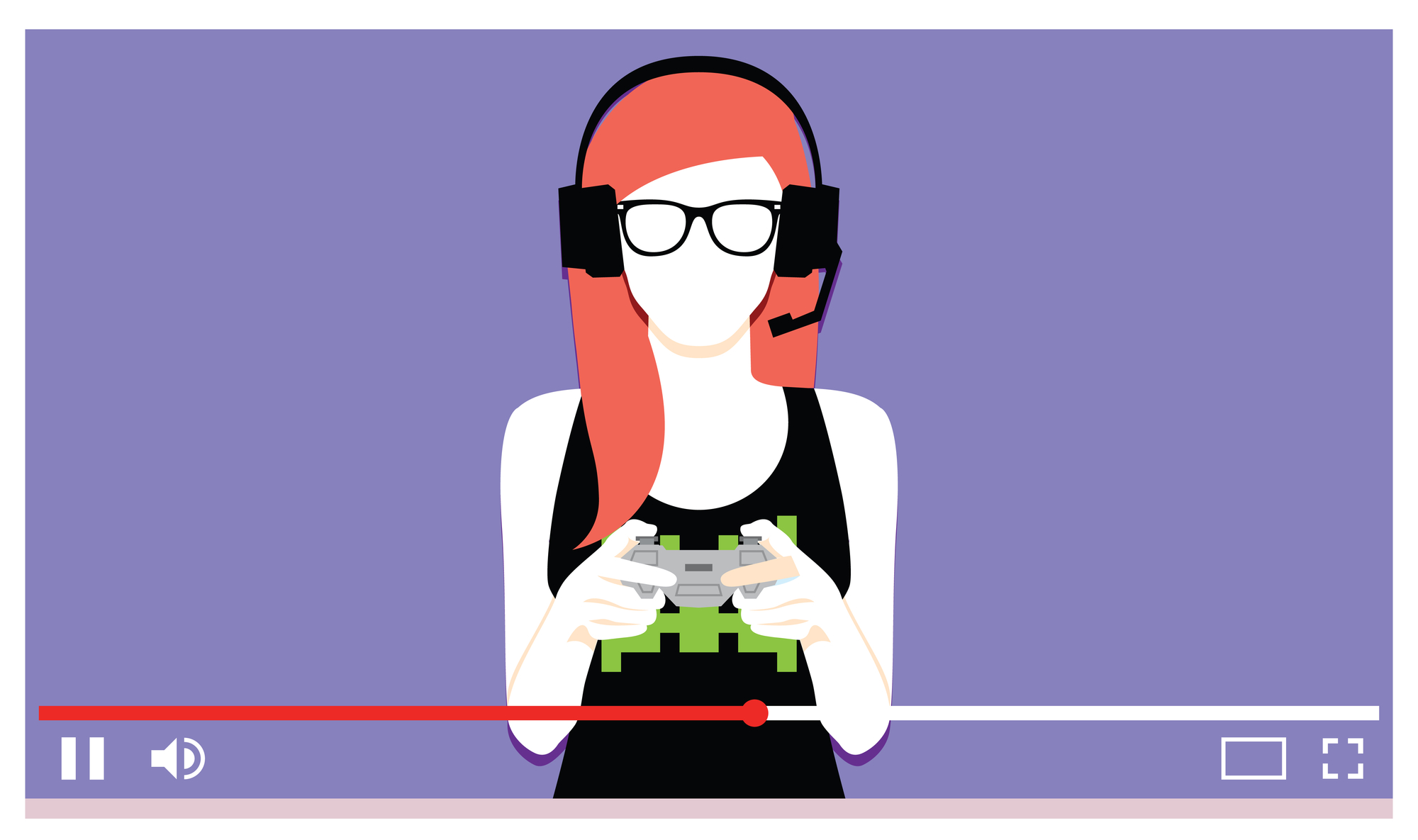 ung kvinde streamer